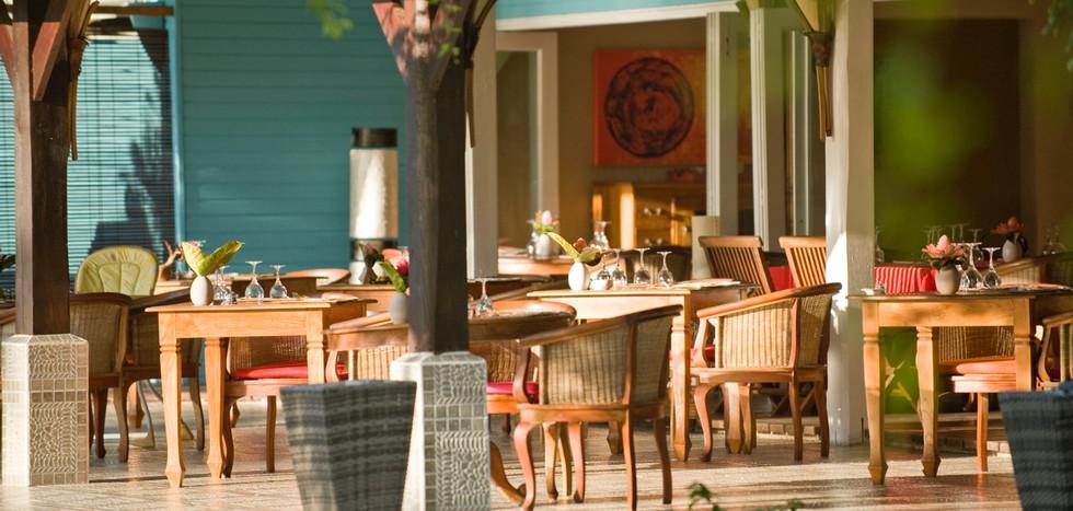 Restaurant at Raiatea Lodge