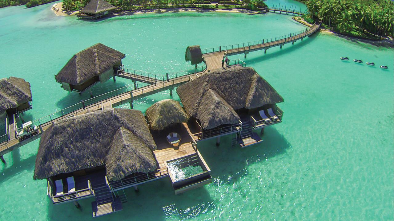 Two Bedroom Herenui Overwater Suite w/Pool