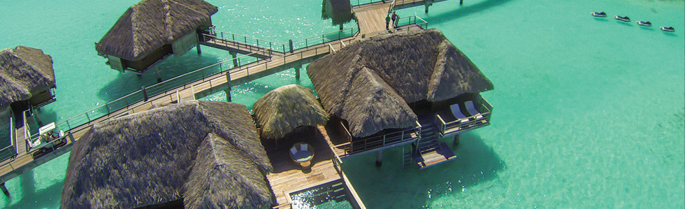 Two Bedroom Herenui Overwater Suite w/Pool