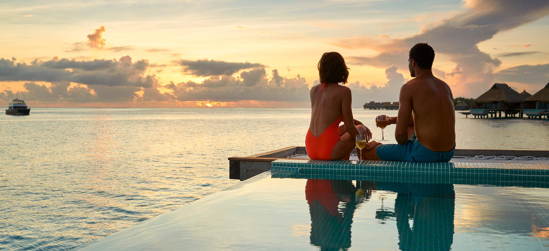 Sunset View Overwater Pool Villa
