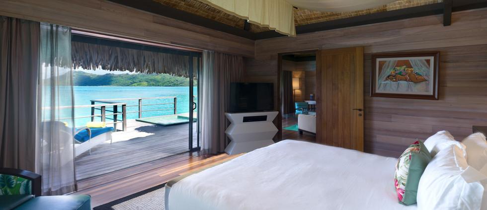 Overwater Premier Otemanu Villa w/Whirlpool (1 bedroom)
