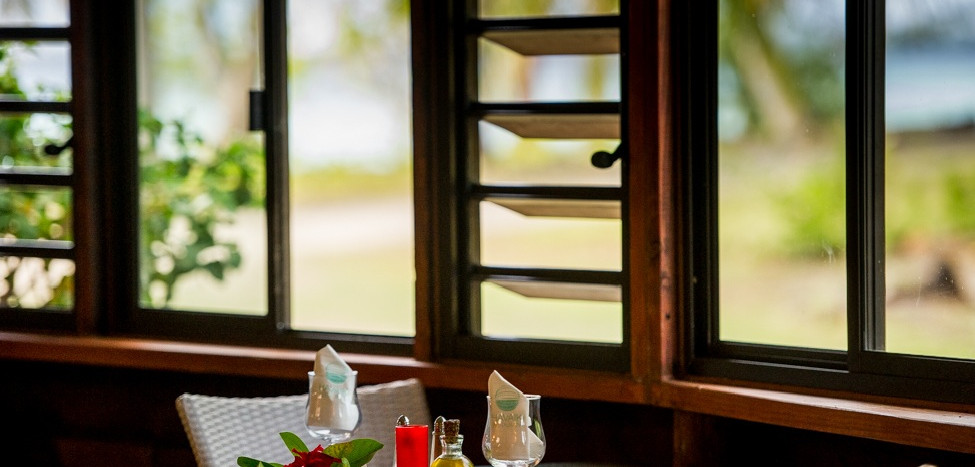 Restaurant at Havaiki Lodge