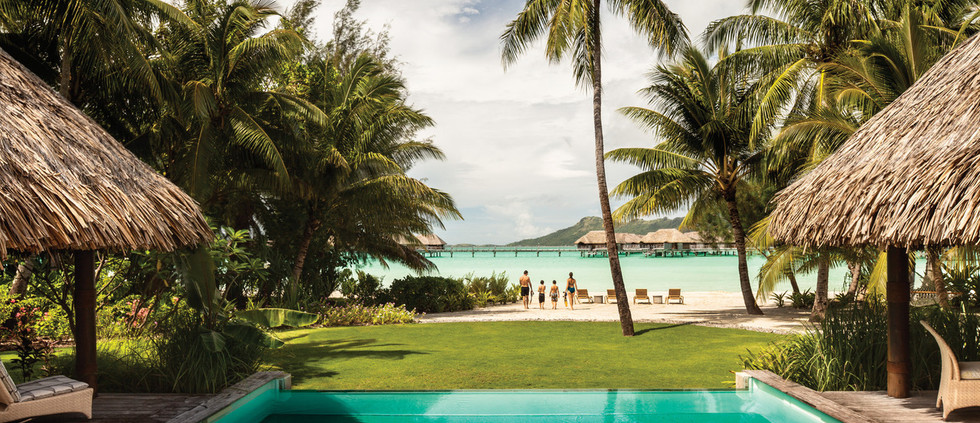 Two Bedroom Premier Beachfront Villa Estate w/Pool