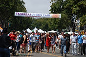 Temescal Street fair, produced by Heart of the town Events