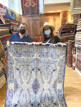 Shopping for Turkish Rugs in Athens