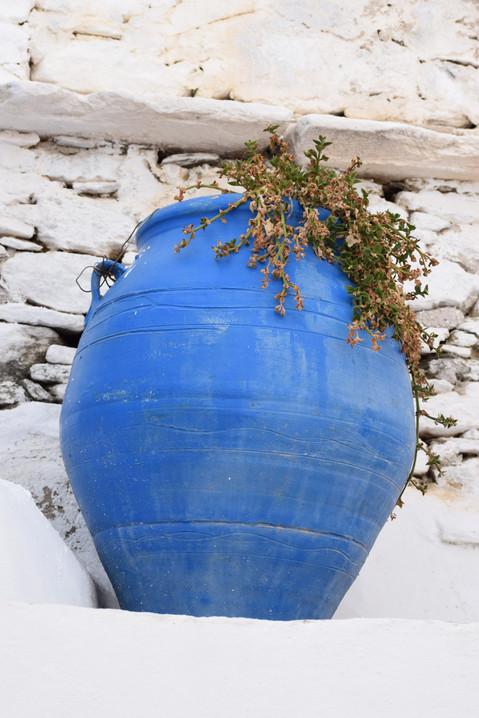 Greek Blue Vase