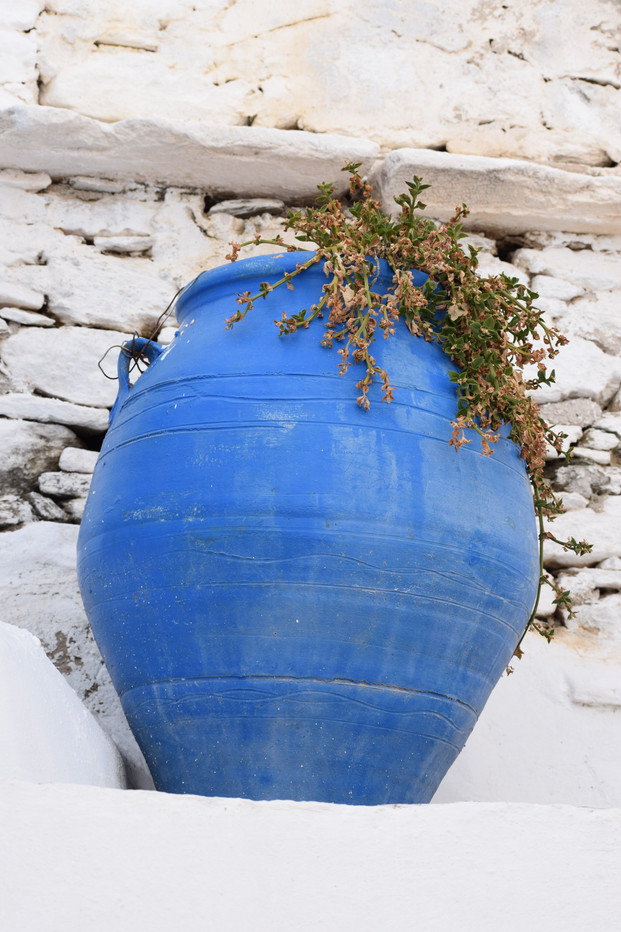 Greek Blue Vase