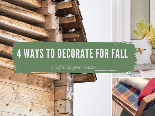 Design Tips: 4 Ways to Decorate for Fall