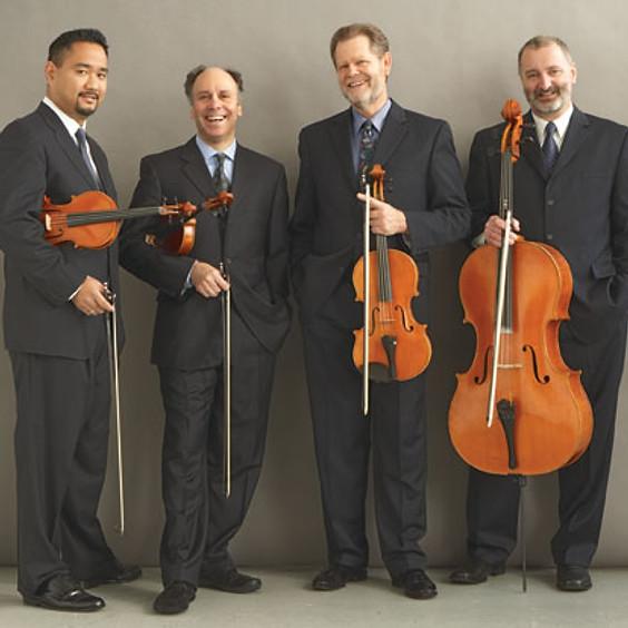 Alexander String Quartet with guitarist William Kanengiser