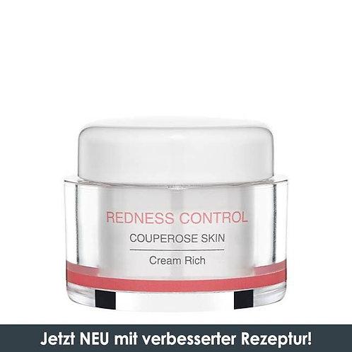 REDNESS CONTROL CREAM RICH COUPEROSE SKIN Reichhaltige Couperose Creme gegen Röt