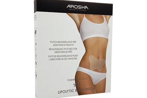 Arosha Lypolytic Body Patch,  Pflaster Fettabbau Bauch,Po, Rücken