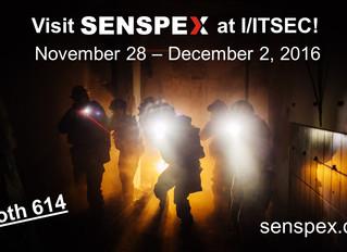 Senspex Booth 614 at I/ITSEC