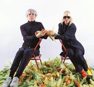 Marta Minujin & Aandy Warhol