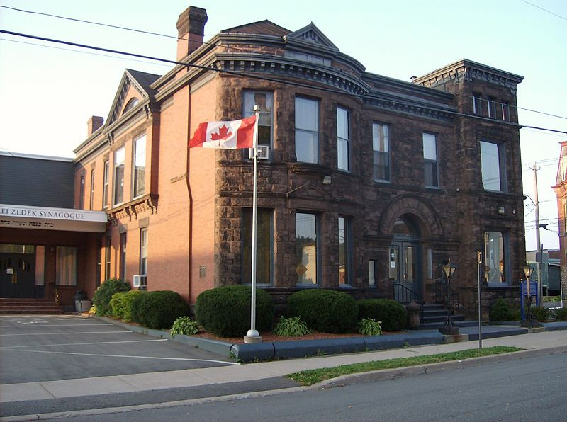 Large old building - Saint John Jewish Historical Museum