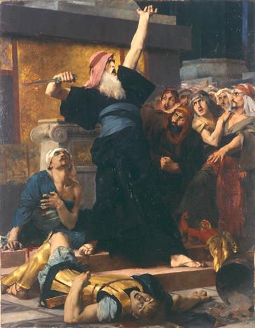 Mattathias slaying a soldier