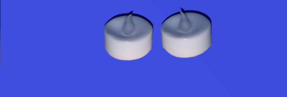 Pair of LED Shabbat candles