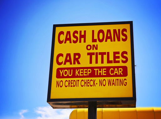 How Can I Borrow With My Car Title?