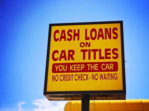 How Can I Borrow With My Car Title?