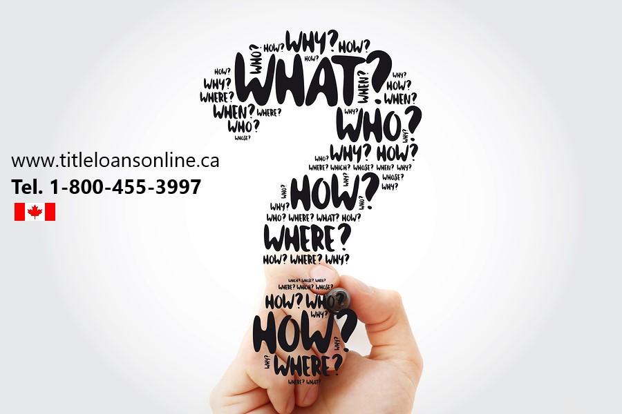 Title Loans Online Canada