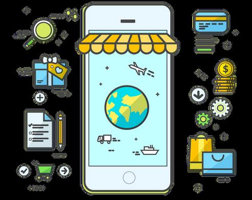 E-Ticaret mobil uyumu görseli