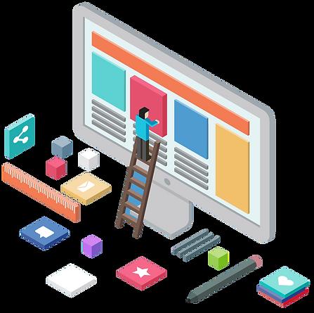 Site tasarımı görseli