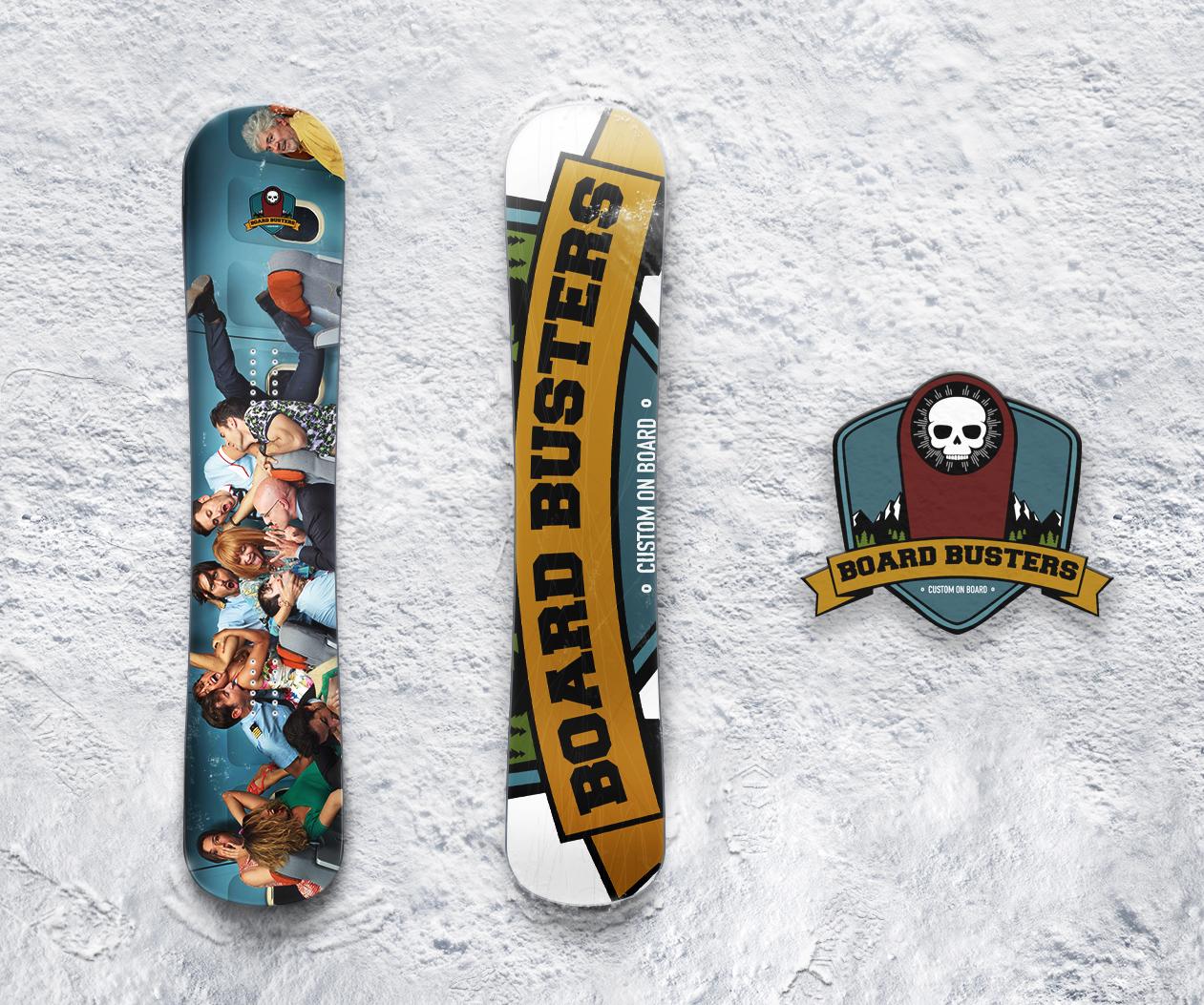 Board Sticker Çalışması
