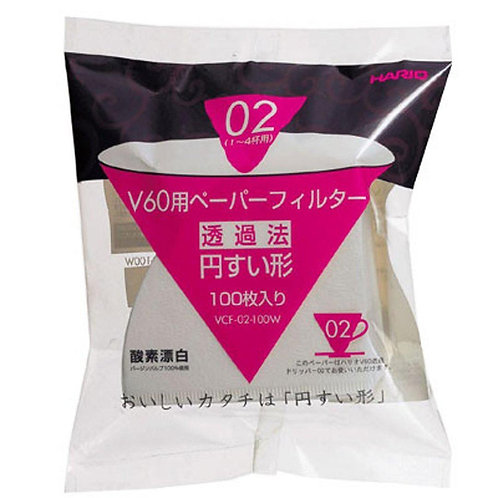 Hario V60 02 Filter Papers (100)