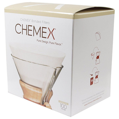 Chemex Coffee Filter Papers for 6-8-10 Cup (100)Chemex Coffee Filter Papers for