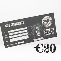 €20 Bodega Gift Card