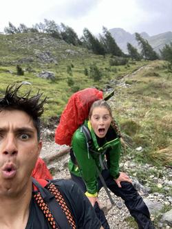 Rainy mountain runs!