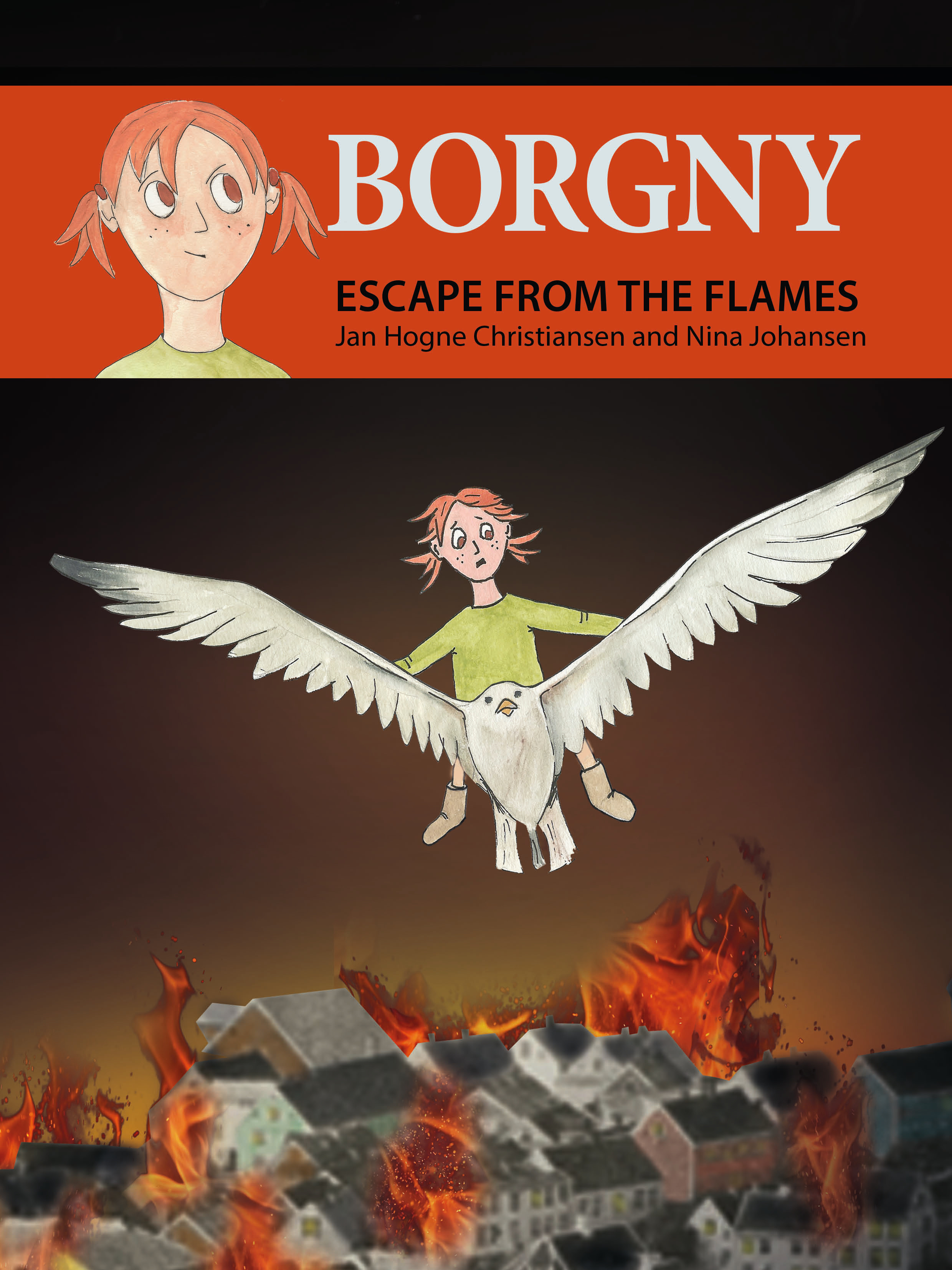 Borgny -  Escape from the flames_digital