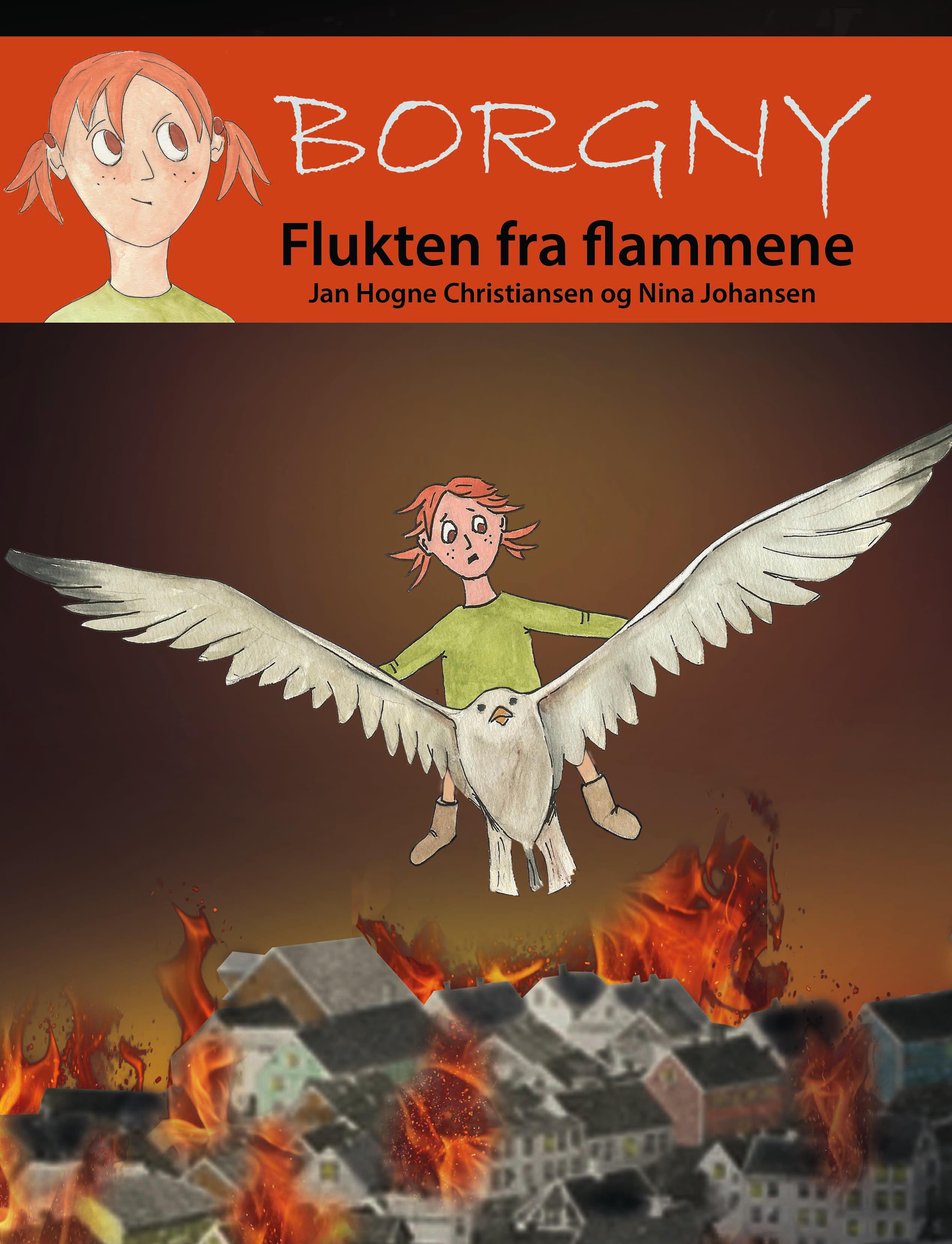 FLUKTEN FRA FLAMMENE