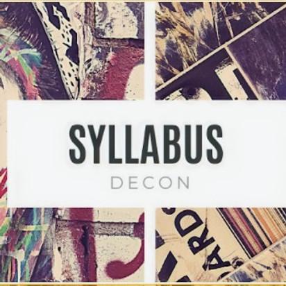 Syllabus Deconstruction Part IV
