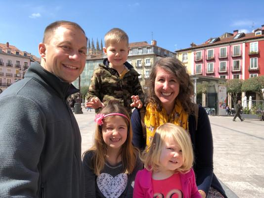 Back in Logroño