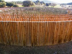 wood maze