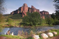 Mts. near el Rio Iregua