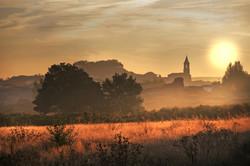 Sunrise in La Rioja