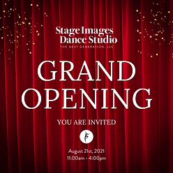 Stage Images Dance Studio Grand Opening