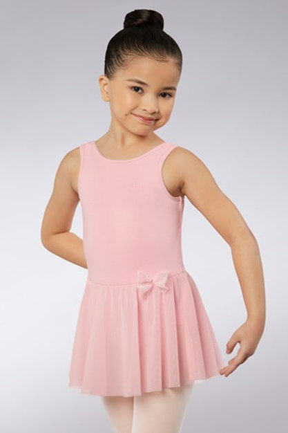 Bow Back Cotton Dress