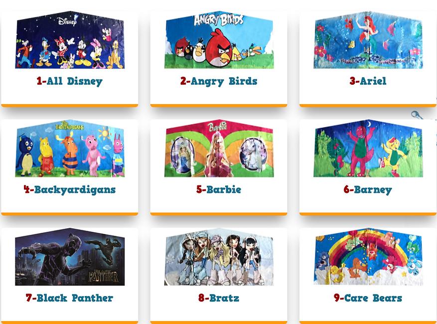 Theme banners art panel banners for boun