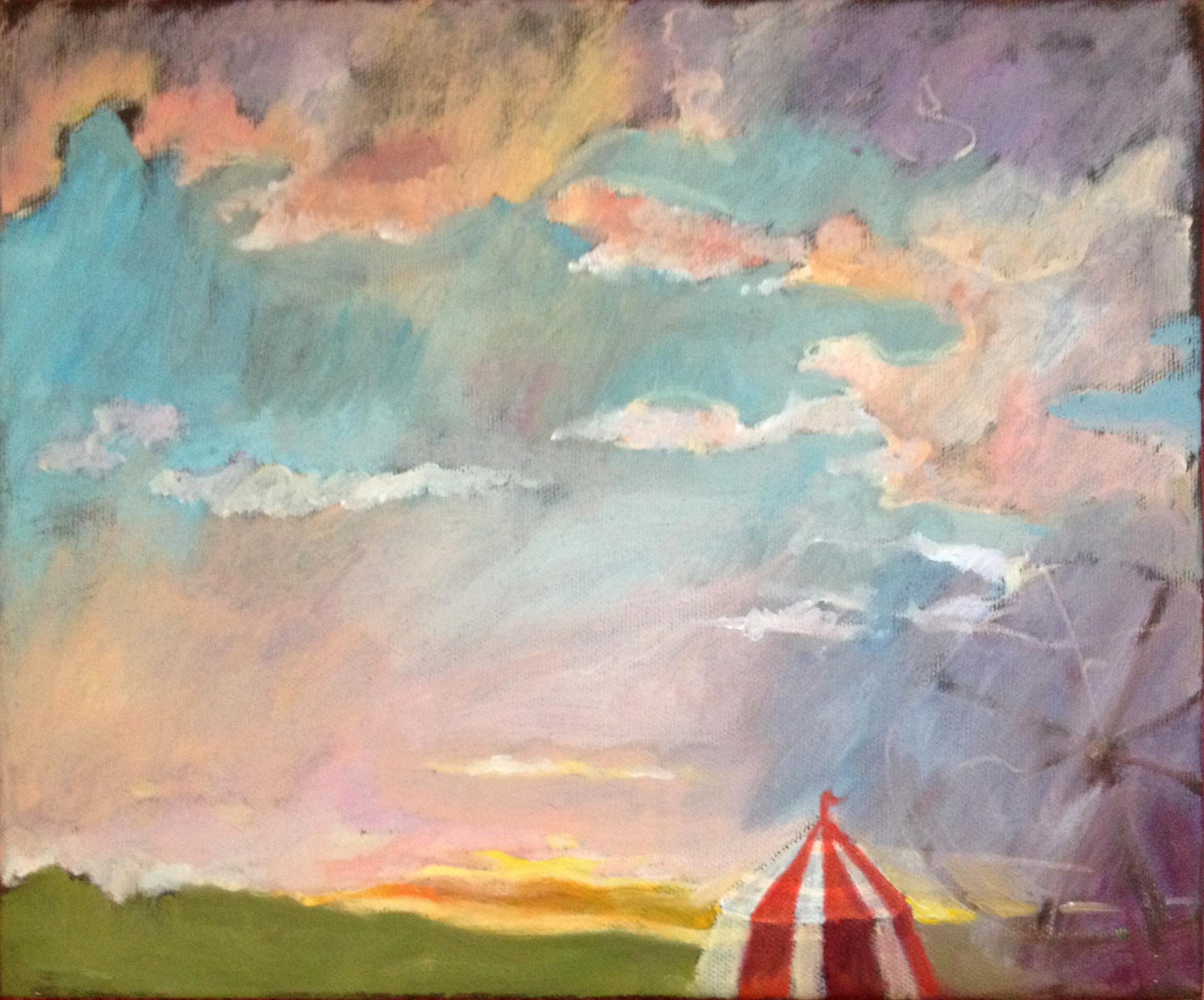 A circus landscape