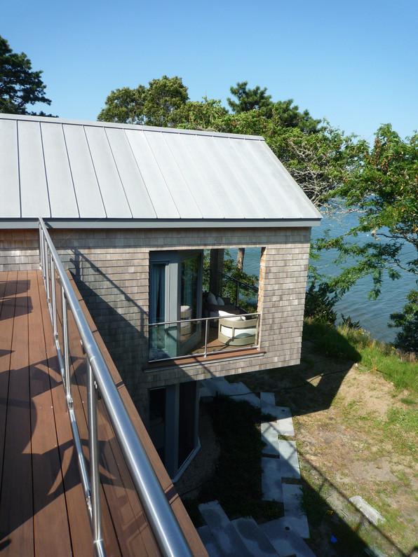 Roof Deck toward Sea