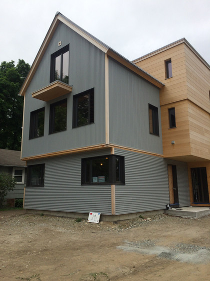 A Modern House in Winchester MA