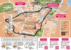 TOKYO RUNING MAP