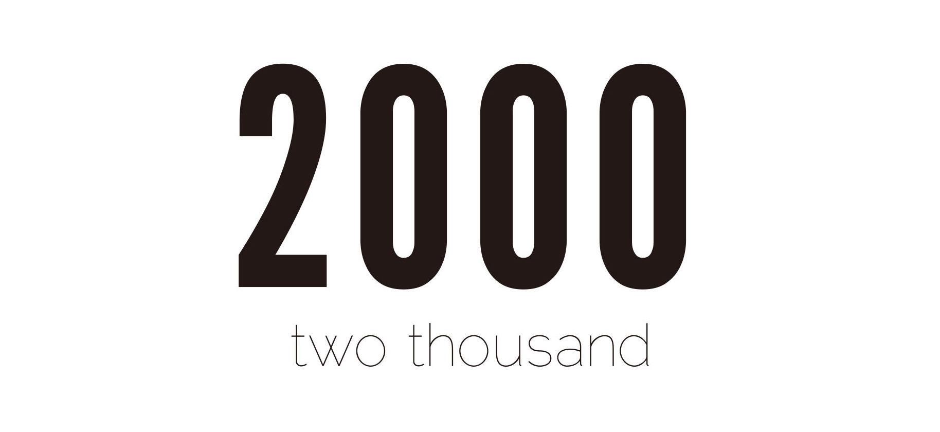 2000 twohousand