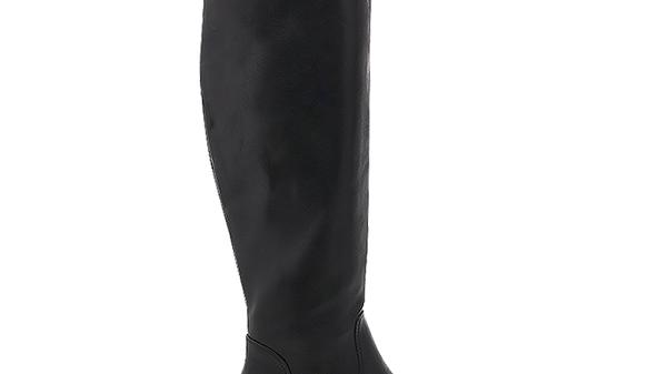 Billini Pratt Black Over the Knee Flat Boots