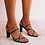 Thumbnail: Billini Sidney Black Strappy Block Heel