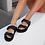 Thumbnail: Billini Zonya Dual Strap Slide