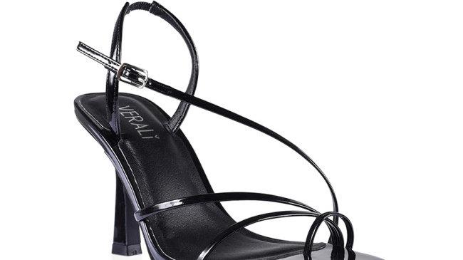 Verali Loni Patent Strappy Stiletto Heel