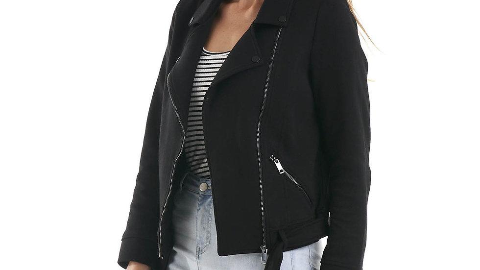 Betty Basics Esther Black Biker Jacket
